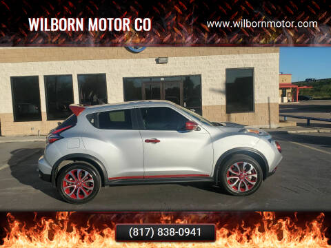 2015 Nissan JUKE for sale at Wilborn Motor Co in Fort Worth TX