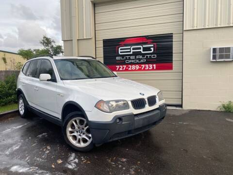 2004 BMW X3 for sale at Elite Auto Group LLC in Pinellas Park FL