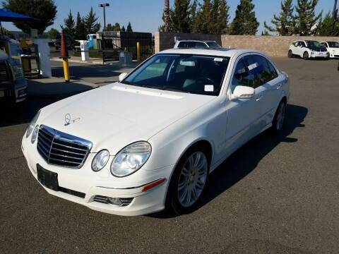 2008 Mercedes-Benz E-Class for sale at McHenry Auto Sales in Modesto CA