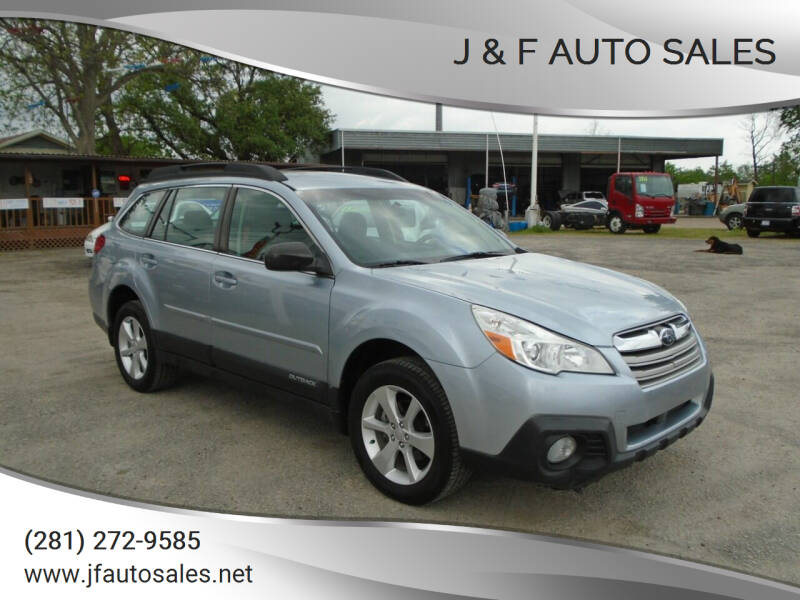 2014 Subaru Outback for sale at J & F AUTO SALES in Houston TX
