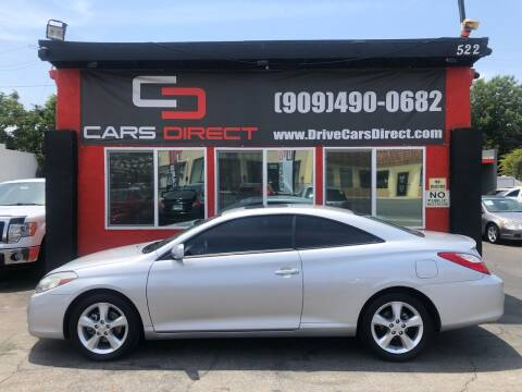 2008 Toyota Camry Solara for sale at Cars Direct in Ontario CA