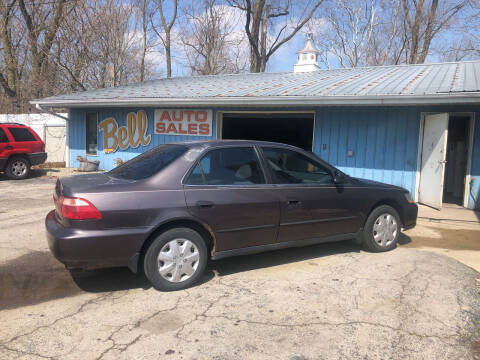 1998 Honda Accord for sale at BELL AUTO & TRUCK SALES in Fort Wayne IN