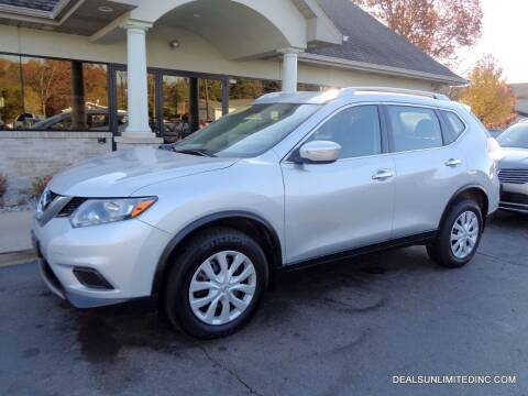 2015 Nissan Rogue for sale at DEALS UNLIMITED INC in Portage MI