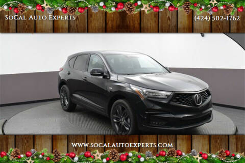 2020 Acura RDX for sale at SoCal Auto Experts in Culver City CA