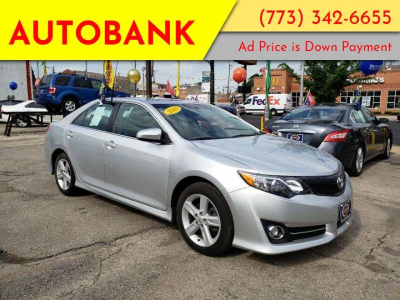 2014 Toyota Camry for sale at AutoBank in Chicago IL