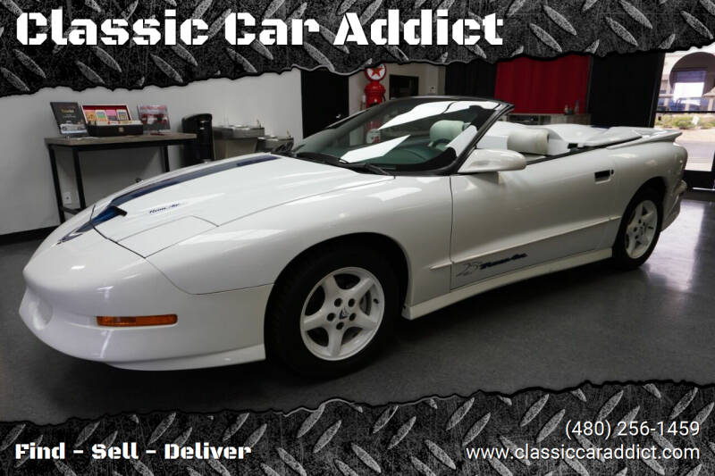 1994 Pontiac Firebird for sale at Classic Car Addict in Mesa AZ