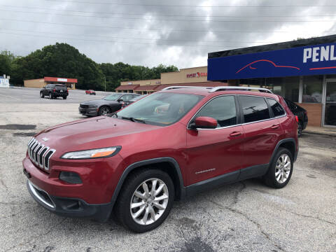 2014 Jeep Cherokee for sale at Penland Automotive Group in Laurens SC
