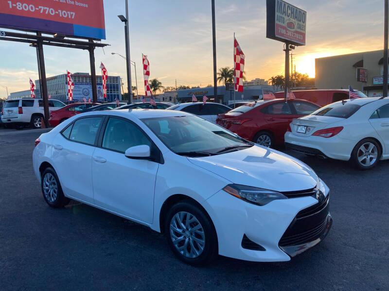 2019 Toyota Corolla for sale at MACHADO AUTO SALES in Miami FL