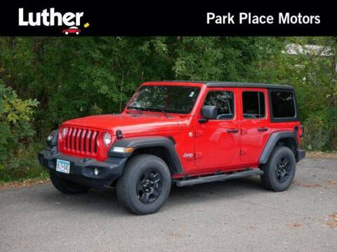 2018 Jeep Wrangler Unlimited for sale at Park Place Motor Cars in Rochester MN