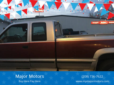 1988 Chevrolet C/K 3500 Series for sale at Major Motors in Twin Falls ID