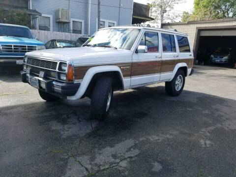 1989 Jeep Wagoneer for sale at Victory Auto Sales in Stockton CA