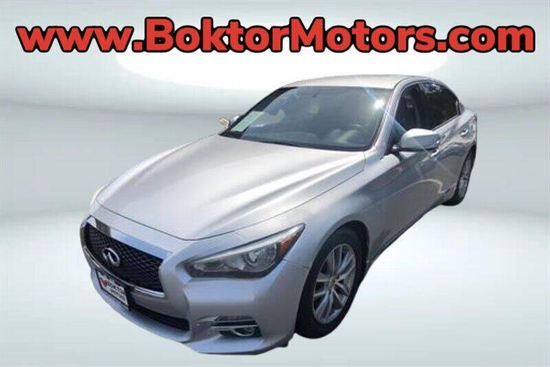 2014 Infiniti Q50 for sale at Boktor Motors in North Hollywood CA