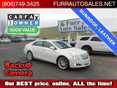 2014 Cadillac XTS for sale at FURR AUTO SALES in Lubbock TX