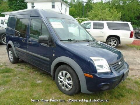 2010 Ford Transit Connect for sale at Vans Vans Vans INC in Blauvelt NY