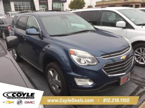 2016 Chevrolet Equinox for sale at COYLE GM - COYLE NISSAN in Clarksville IN