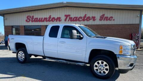 2013 Chevrolet Silverado 2500HD for sale at STAUNTON TRACTOR INC in Staunton VA
