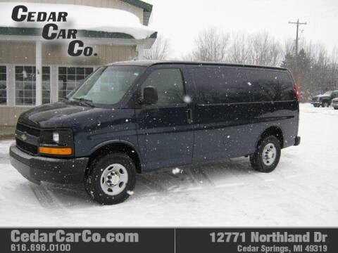 2014 Chevrolet Express Cargo for sale at Cedar Car Co in Cedar Springs MI