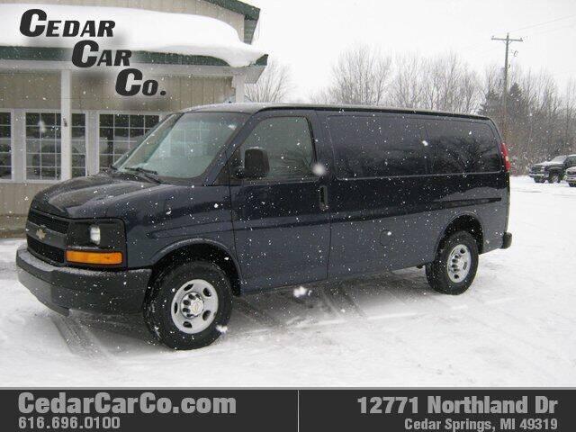 2014 Chevrolet Express Cargo for sale at Cedar Car Co in Cedar Springs MI