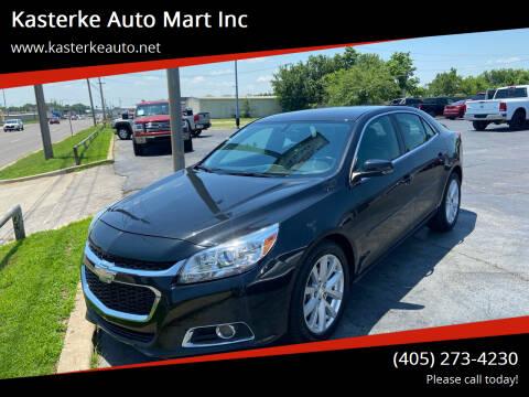 2015 Chevrolet Malibu for sale at Kasterke Auto Mart Inc in Shawnee OK