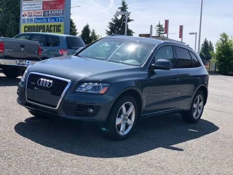 2011 Audi Q5 for sale at KARMA AUTO SALES in Federal Way WA