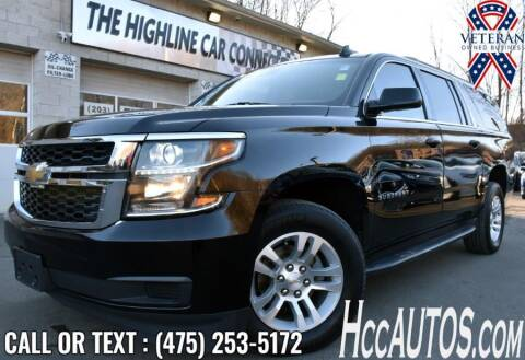 2017 Chevrolet Suburban for sale at The Highline Car Connection in Waterbury CT