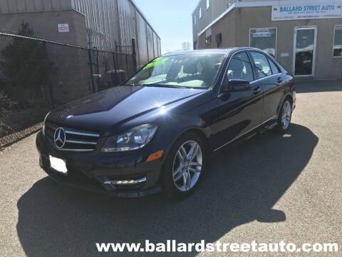 2014 Mercedes-Benz C-Class for sale at Ballard Street Auto in Saugus MA