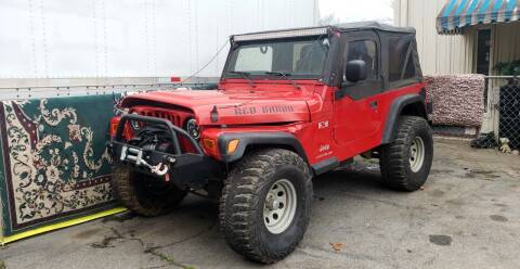 2003 Jeep Wrangler for sale at ALL AUTOS in Greer SC