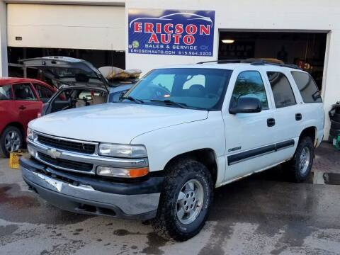 2000 Chevrolet Tahoe for sale at Ericson Auto in Ankeny IA