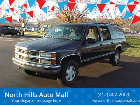 1997 Chevrolet Suburban for sale at North Hills Auto Mall in Pittsburgh PA