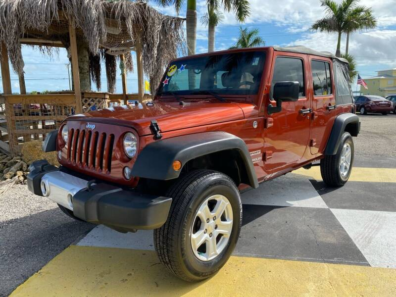 2014 Jeep Wrangler Unlimited for sale at D&S Auto Sales, Inc in Melbourne FL