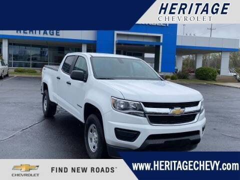 2019 Chevrolet Colorado for sale at HERITAGE CHEVROLET INC in Creek MI