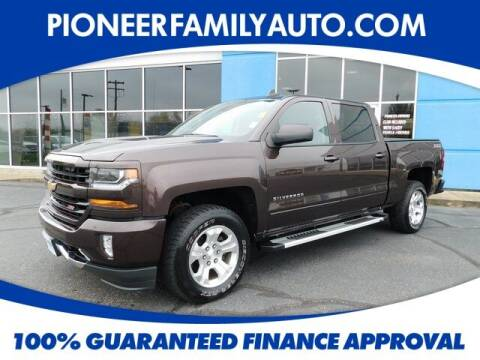 2016 Chevrolet Silverado 1500 for sale at Pioneer Family auto in Marietta OH