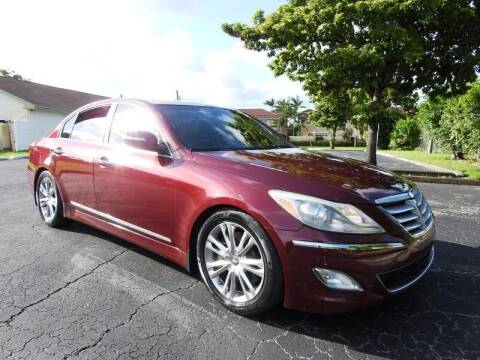 2012 Hyundai Genesis for sale at SUPER DEAL MOTORS 441 in Hollywood FL