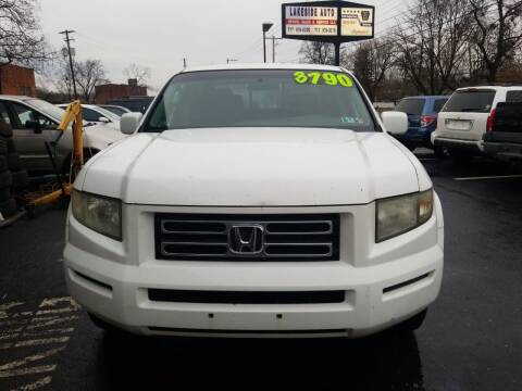 2006 Honda Ridgeline for sale at Roy's Auto Sales in Harrisburg PA