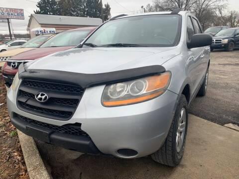 2009 Hyundai Santa Fe for sale at ALVAREZ AUTO SALES in Des Moines IA