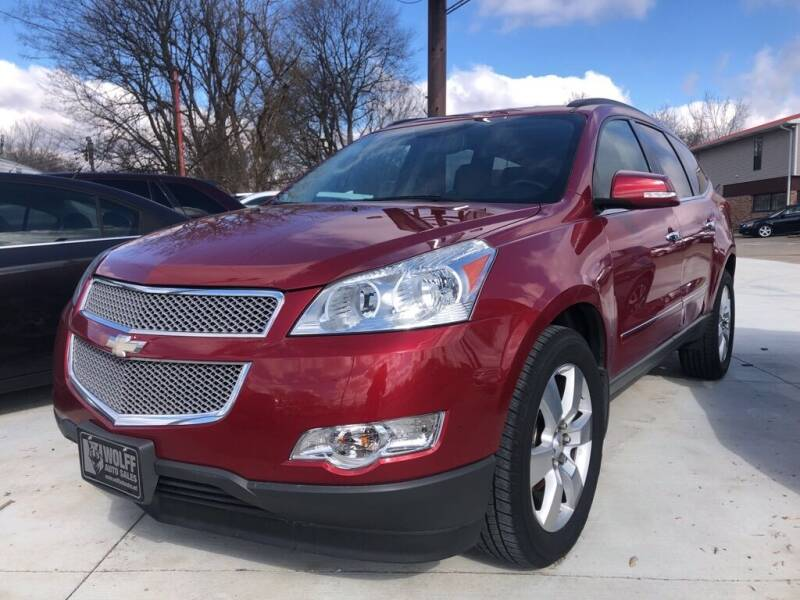 2012 Chevrolet Traverse for sale at Wolff Auto Sales in Clarksville TN