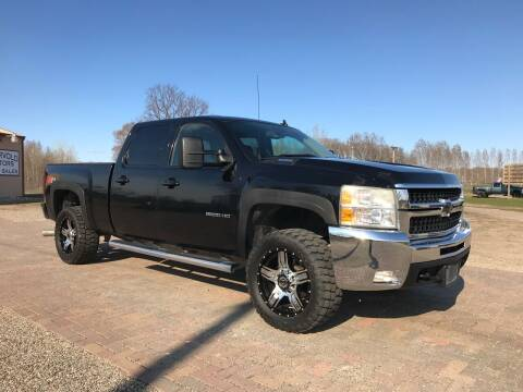 2009 Chevrolet Silverado 2500HD for sale at Overvold Motors in Detriot Lakes MN