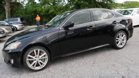 2006 Lexus IS 350 for sale at NORCROSS MOTORSPORTS in Norcross GA