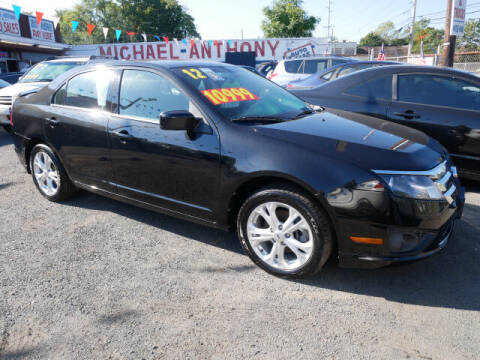 2012 Ford Fusion for sale at MICHAEL ANTHONY AUTO SALES in Plainfield NJ