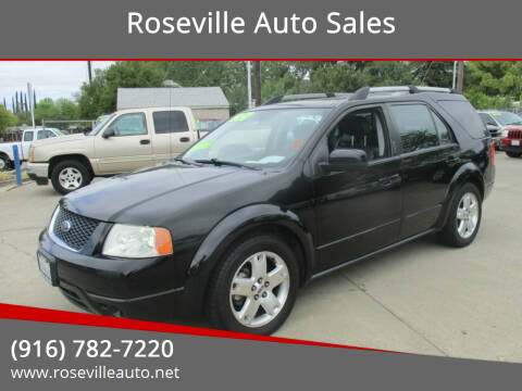2007 Ford Freestyle for sale at Roseville Auto Sales in Roseville CA