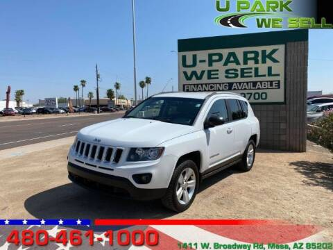 2016 Jeep Compass for sale at UPARK WE SELL AZ in Mesa AZ