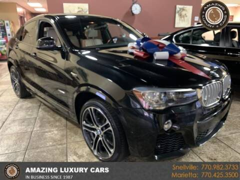 2018 BMW X4 for sale at Amazing Luxury Cars in Snellville GA