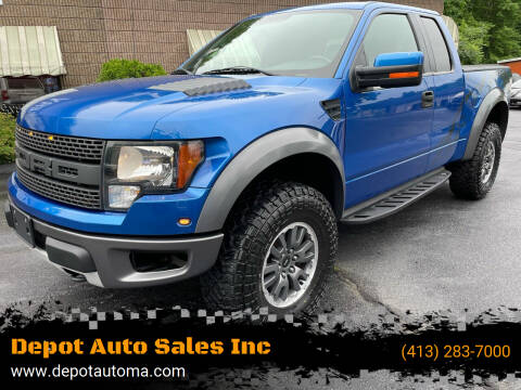 2010 Ford F-150 for sale at Depot Auto Sales Inc in Palmer MA