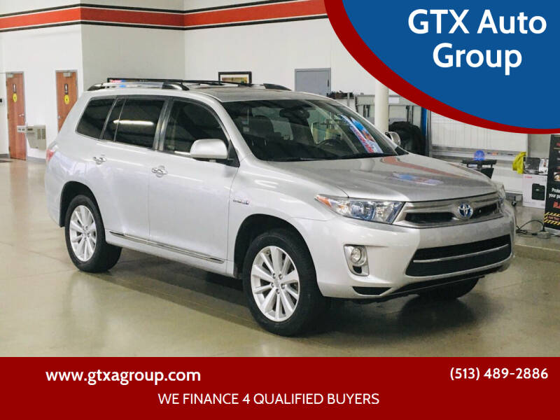 2013 Toyota Highlander Hybrid for sale at GTX Auto Group in West Chester OH