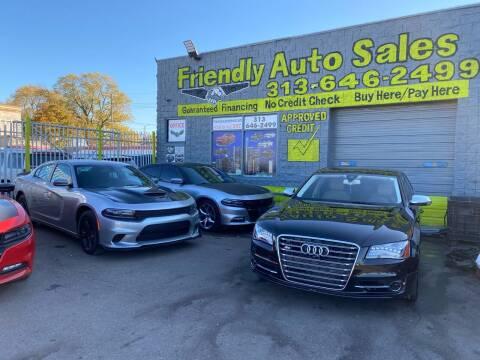 2014 Audi S8 for sale at Friendly Auto Sales in Detroit MI