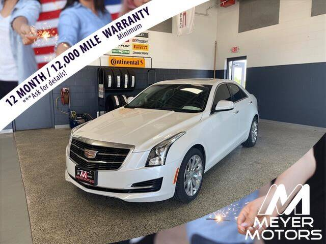 2017 Cadillac ATS for sale at Meyer Motors in Plymouth WI