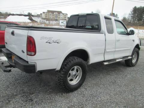 2002 Ford F-150 for sale at Saratoga Motors in Gansevoort NY