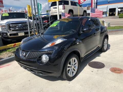 2014 Nissan JUKE for sale at Navarro Auto Motors in Hialeah FL