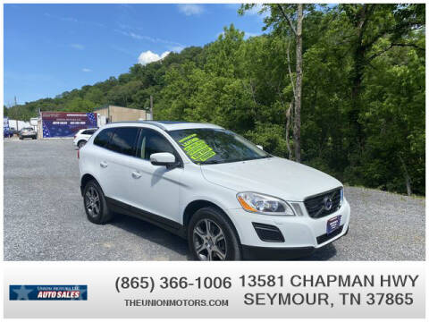 2012 Volvo XC60 for sale at Union Motors in Seymour TN