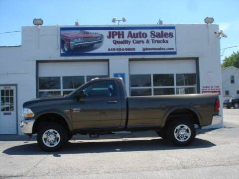 2012 RAM Ram Pickup 2500 for sale at JPH Auto Sales in Eastlake OH